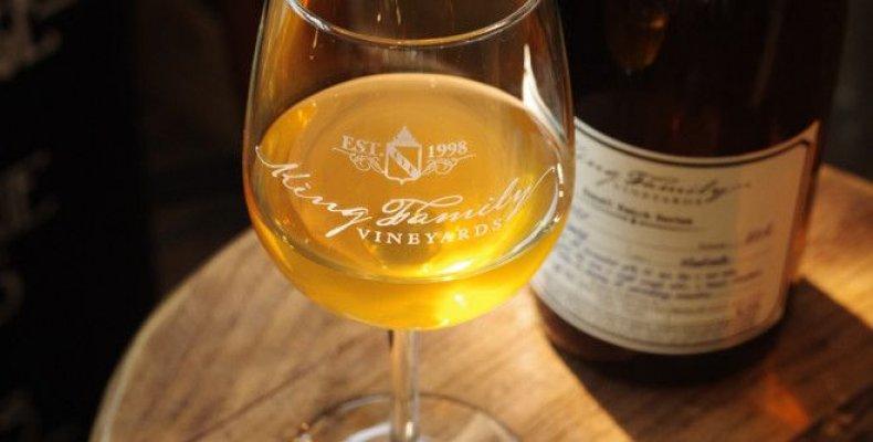 Viognier 2016 king family orange wine