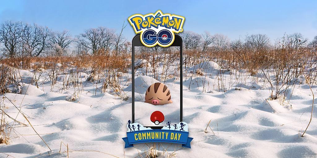 pokemon go swinub community day