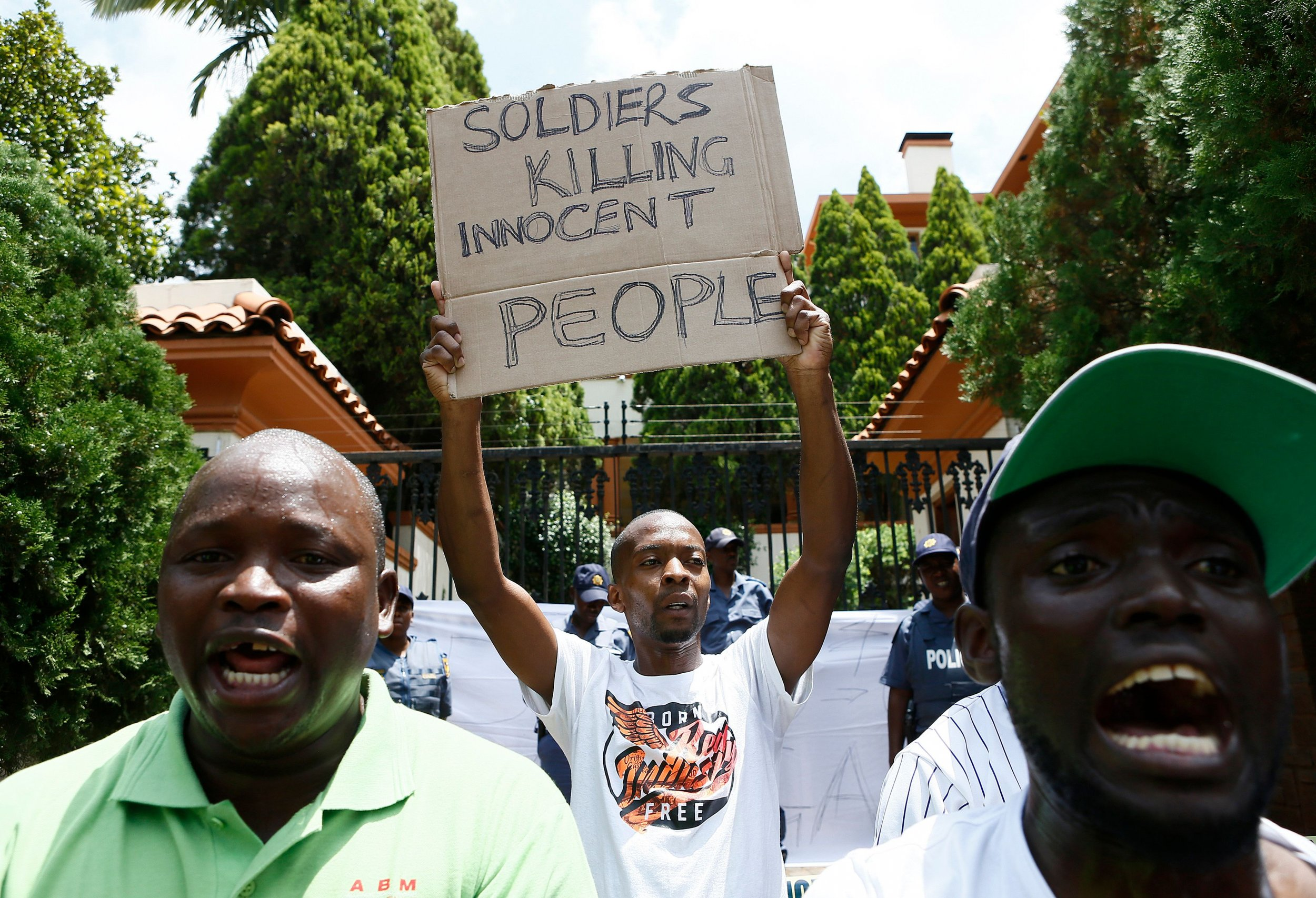 Zimbabwe protests torture