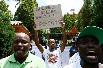 Zimbabwe protests torture