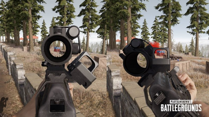 PUBG Canted Sights