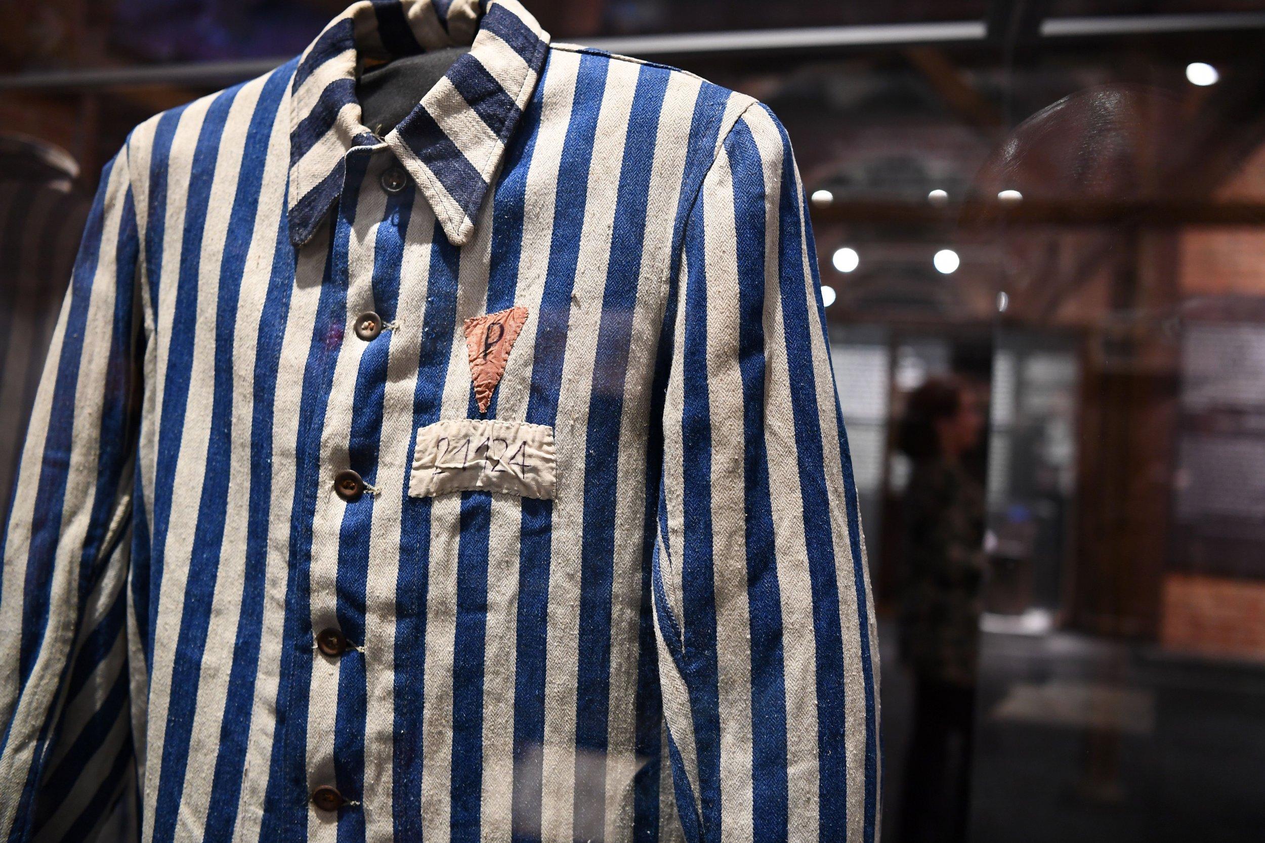 Holocaust uniform Nazis genocide Jews