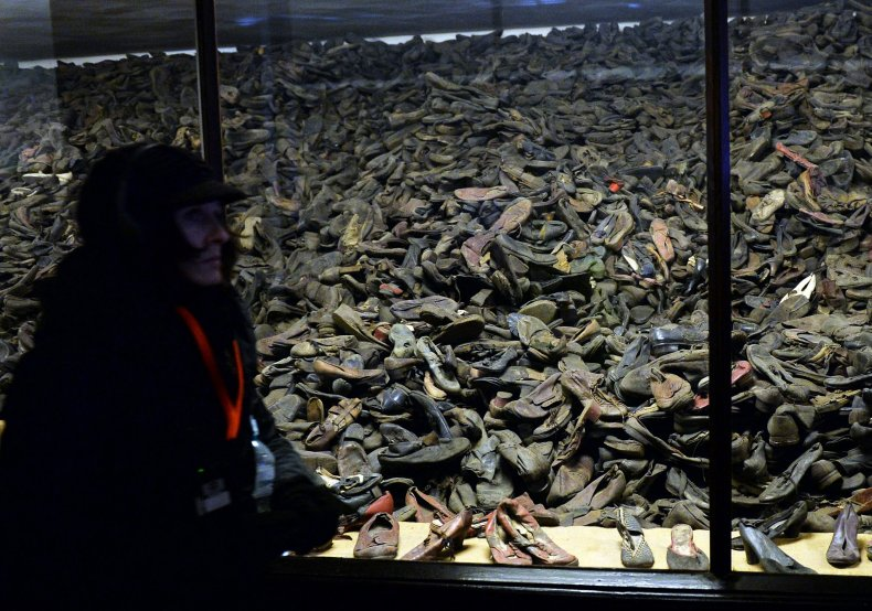 Asuchwitz shoes neo-Nazis Holocaust anti-Semitism