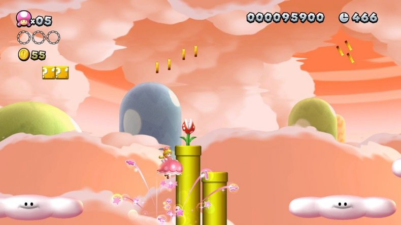 new super mario bros u deluxe peachette