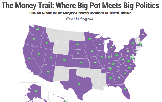 SAM: anti marijuana legalization donation map