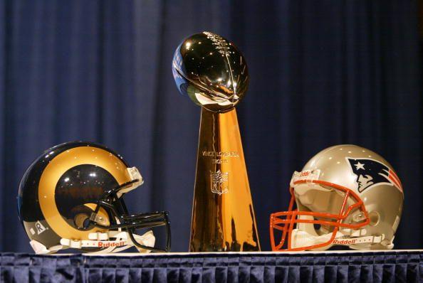 Super Bowl Rams-Patriots