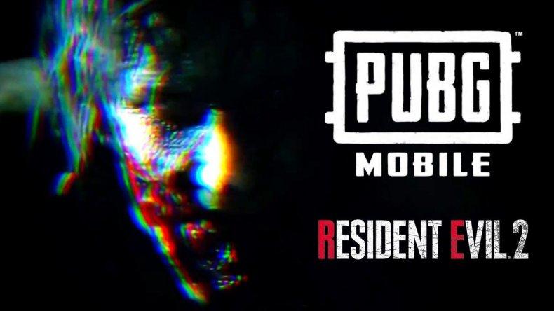 PUBG Mobile Resident Evil 2 logo