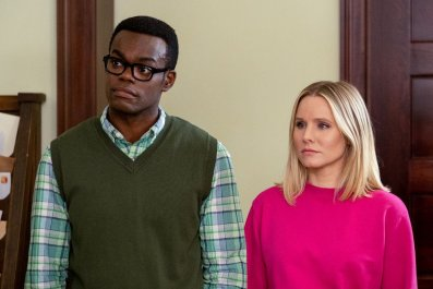 the good place chidi and eleanor strory