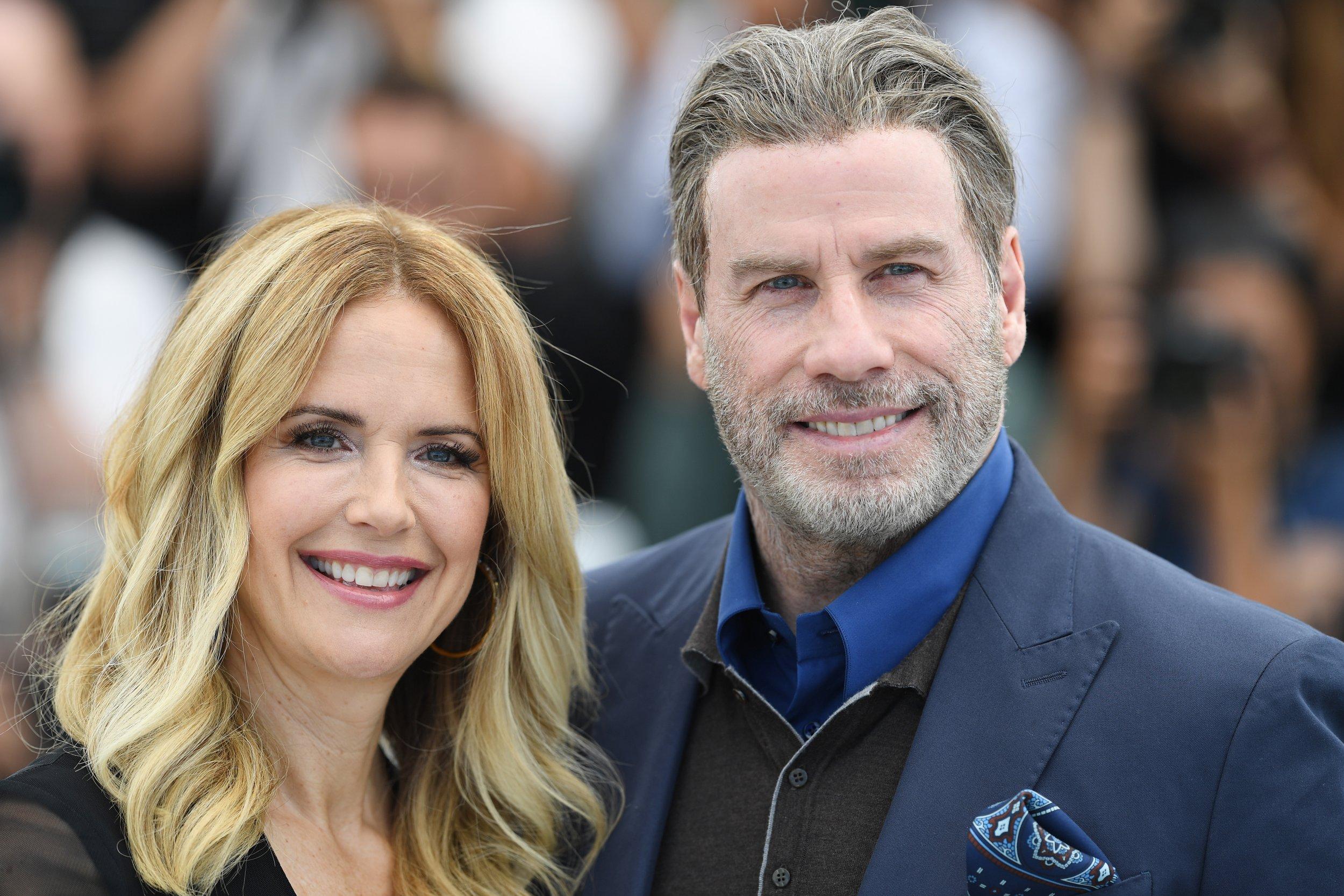 John Travolta, Kelly Preston on Scientology