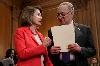 schumer, pelosi, democrats, slam, wilbur ross