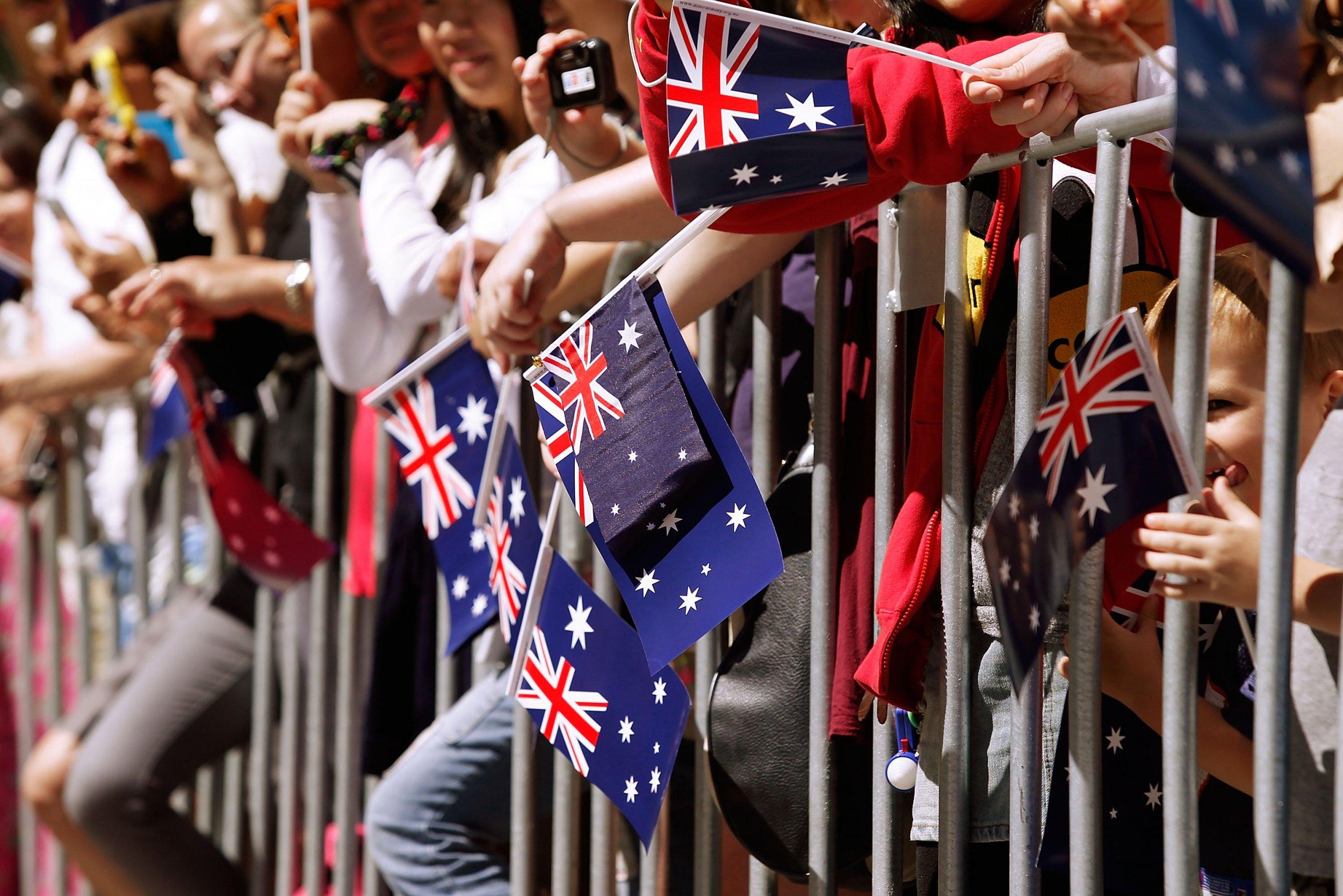 Australia day Melbourne