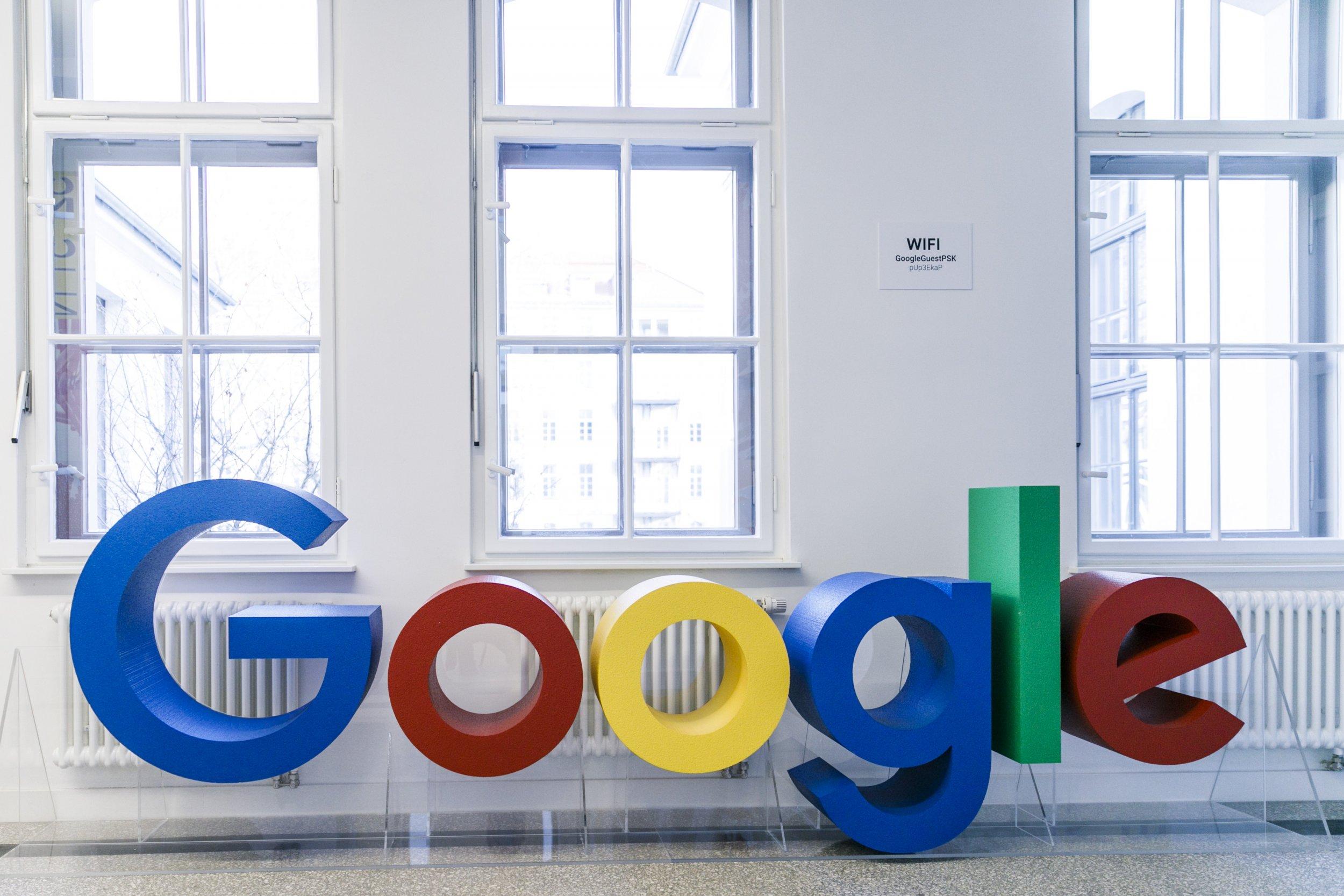 google logo in berlin