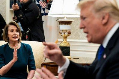 NancyPelosiDonaldTrumpApprovalRating