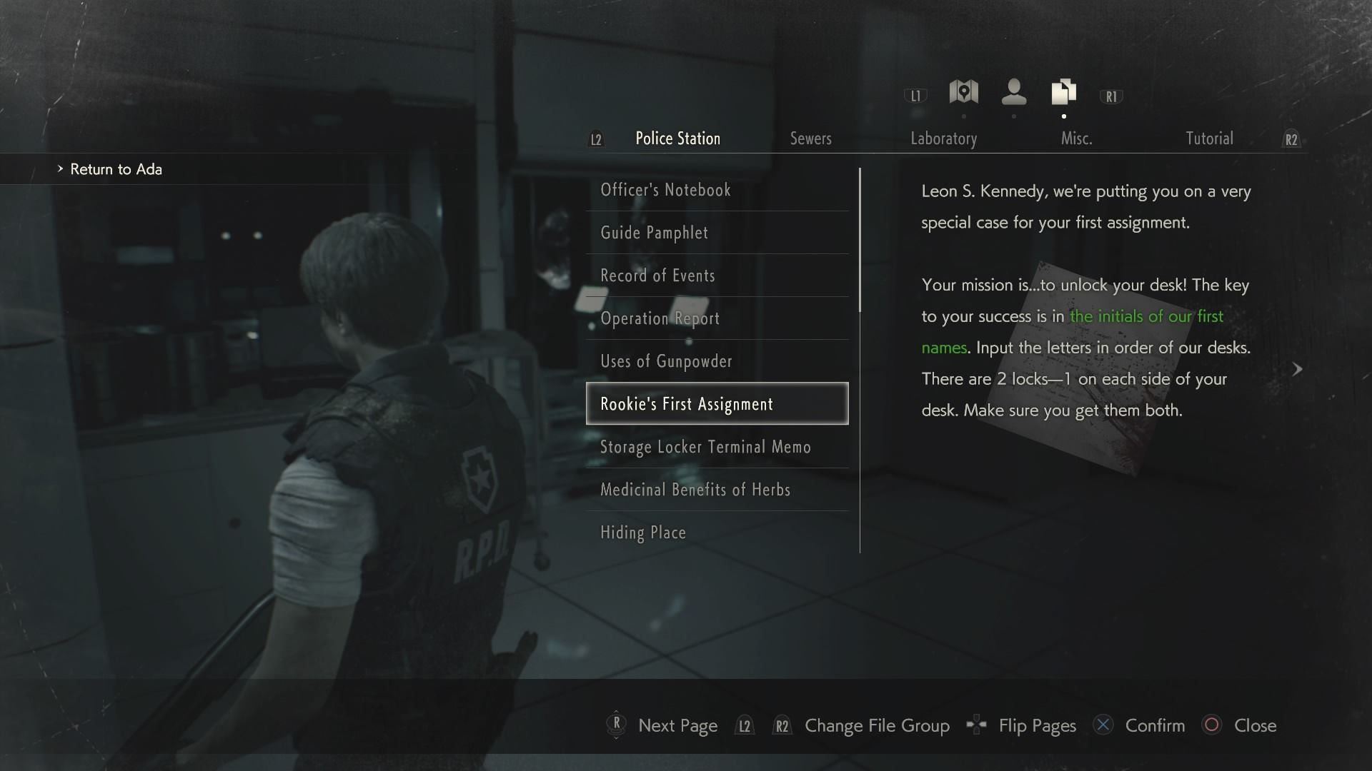 Resident Evil 2' Safe and Locker Combinations: All the Unlock Combos