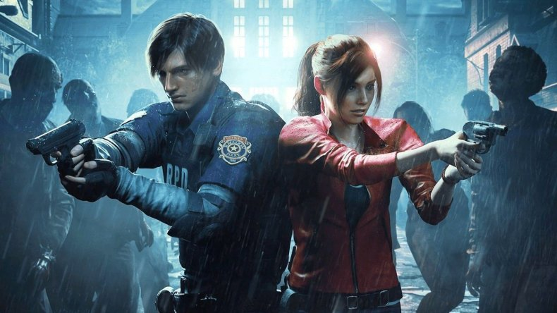 claire-or-leon-vs-first-resident-evil-2-remake
