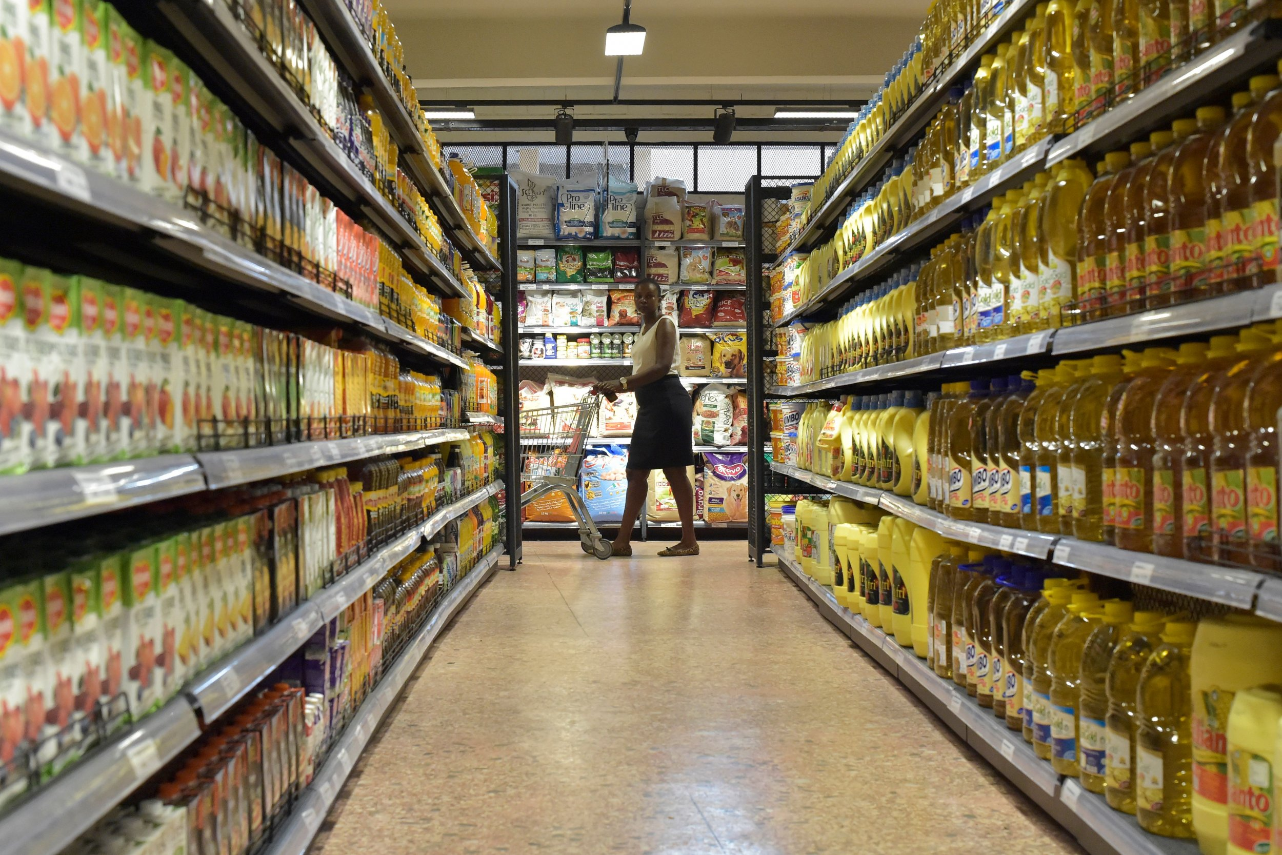 Body, Supermarket, Shelves, Coolers, Iowa, Mystery
