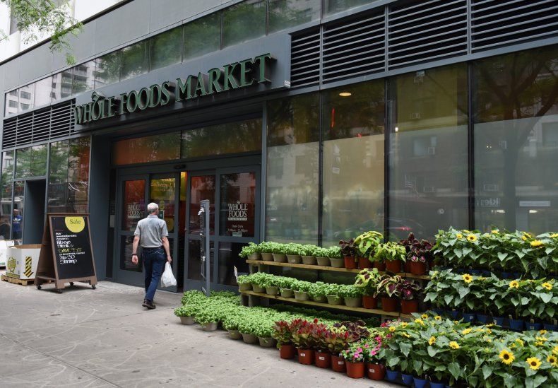 whole foods store front some greens recalled