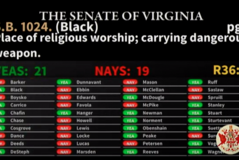Virginia Church Gun Bill