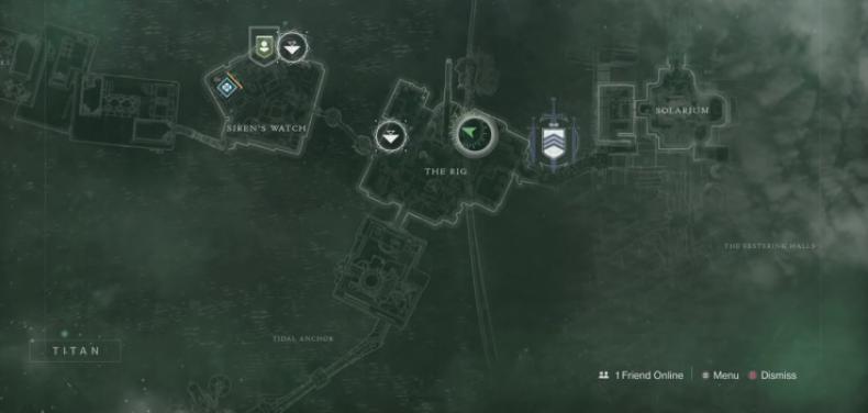 Destiny 2 xur location 1-25