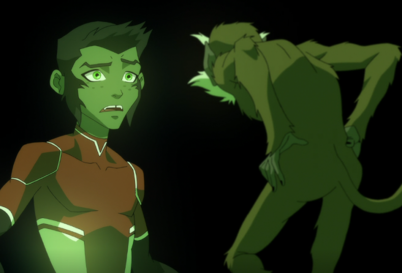 beast boy monkey god young justice