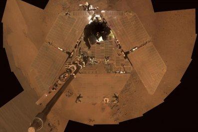 opportunity rover december 2011