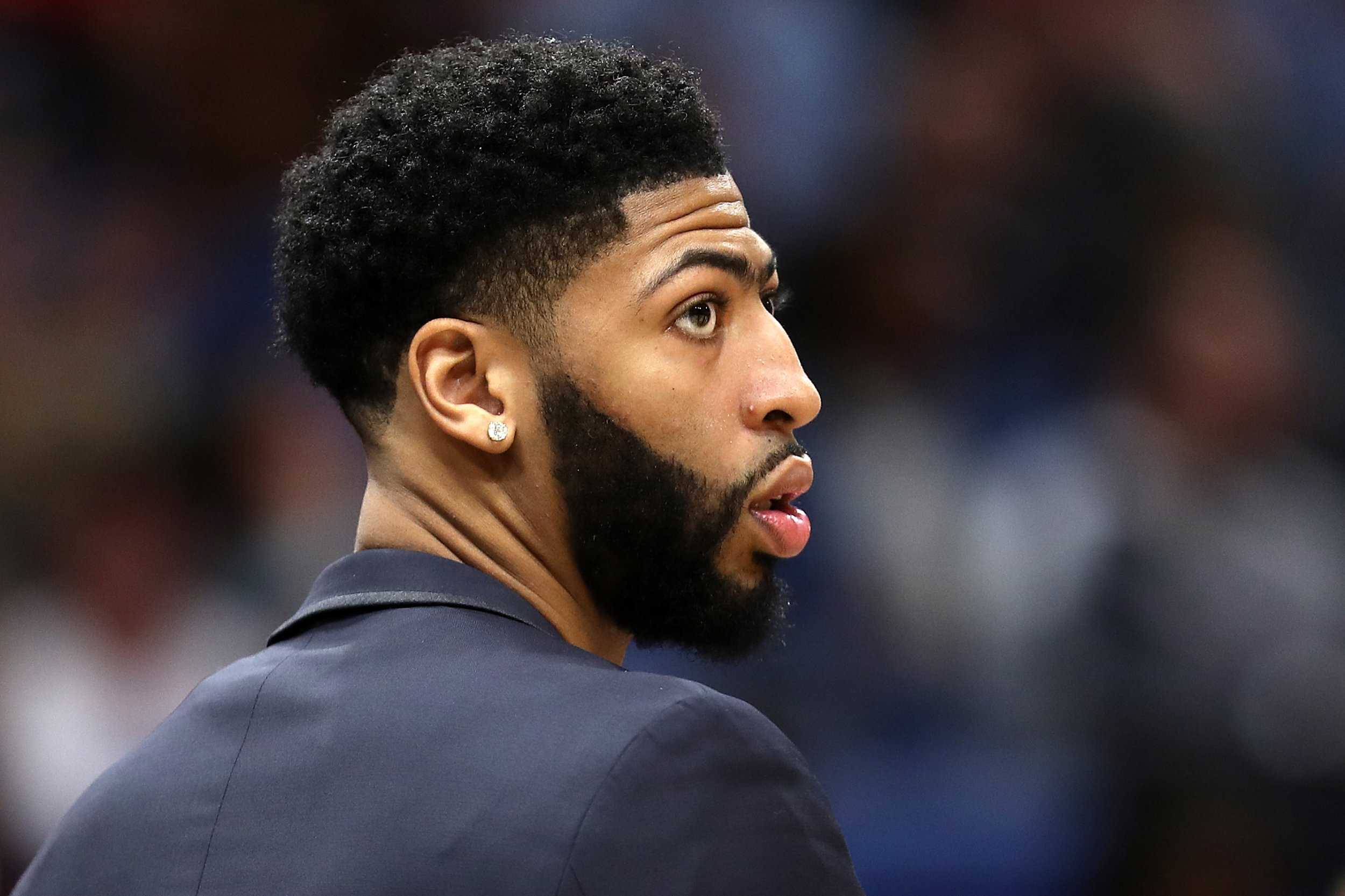 Anthony Davis Trade All Star Forward Tells Pelicans He