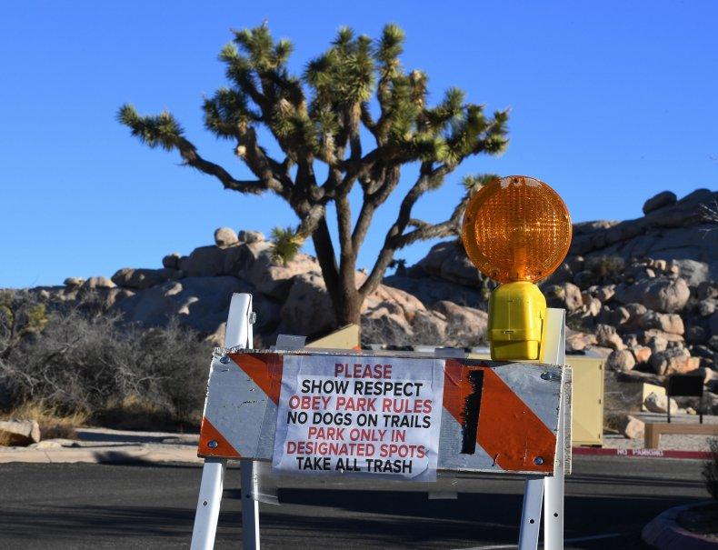 Joshua Tree, Government Shutdown, Damage, Vandalism, California