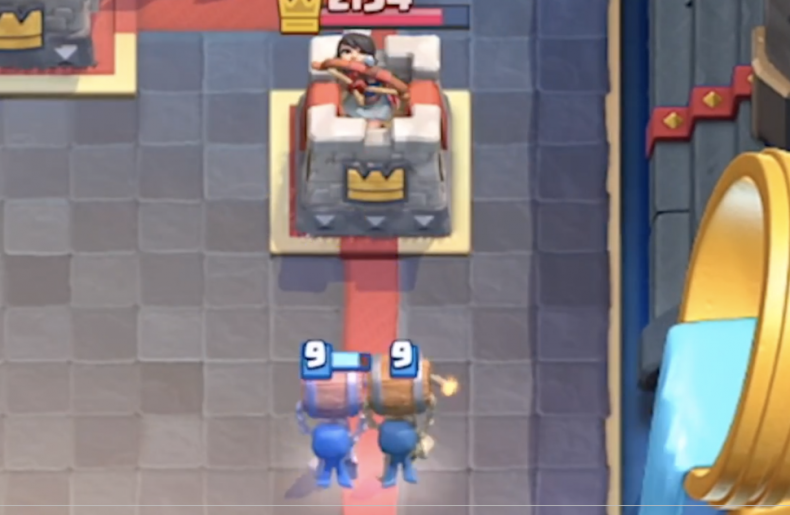 new clash royal update January 2019 new card wall breakers