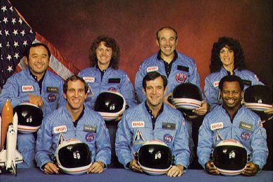 challenger crew explosion cause of explosion