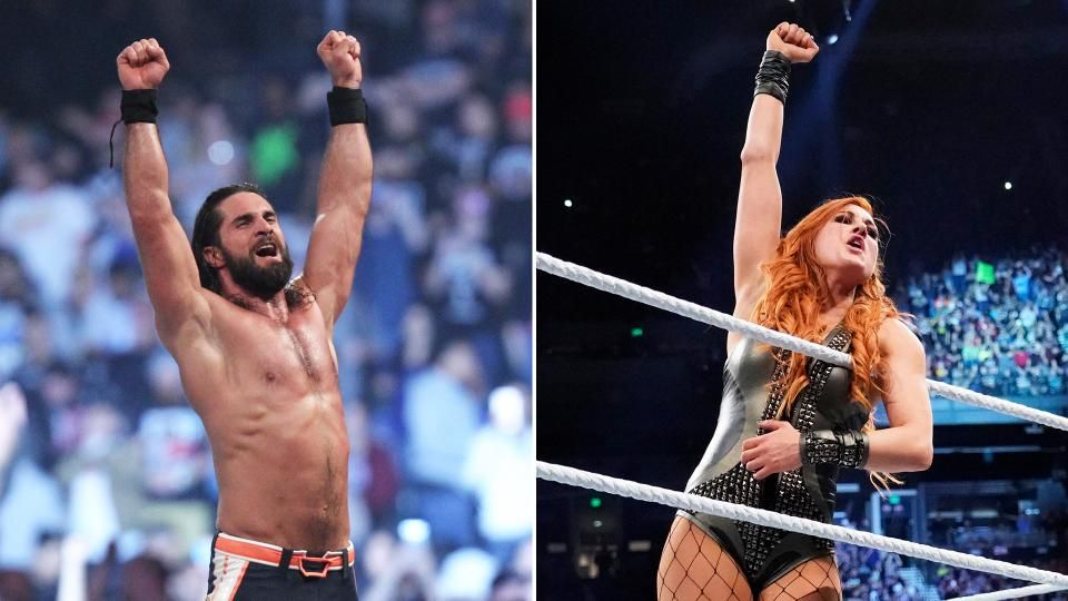 seth rollins becky lynch royal rumble wins wwe