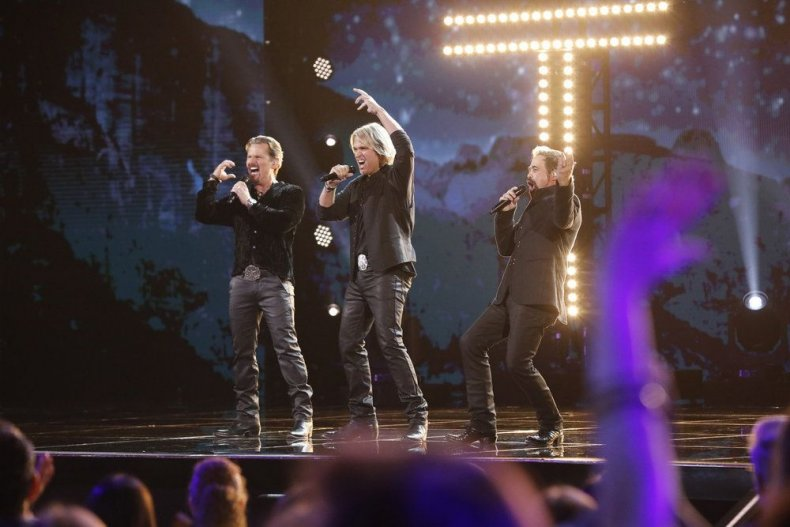 AGT: The Champions episode 4 recap results and spoilers the Texas tenors eliminated who went through season 4 trio
