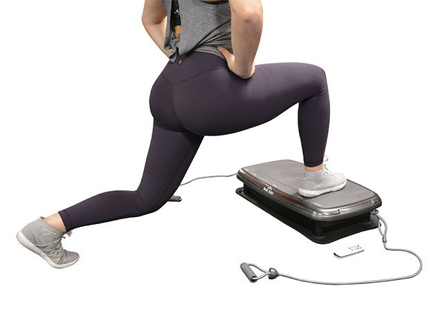 Fitness Apps and Tools - Whole Body Vibration Fitness Machine