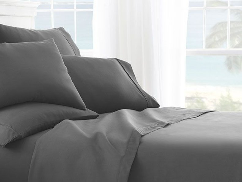 Products for a Better Nights Sleep - iEnjoy Home Grey Sheet Set
