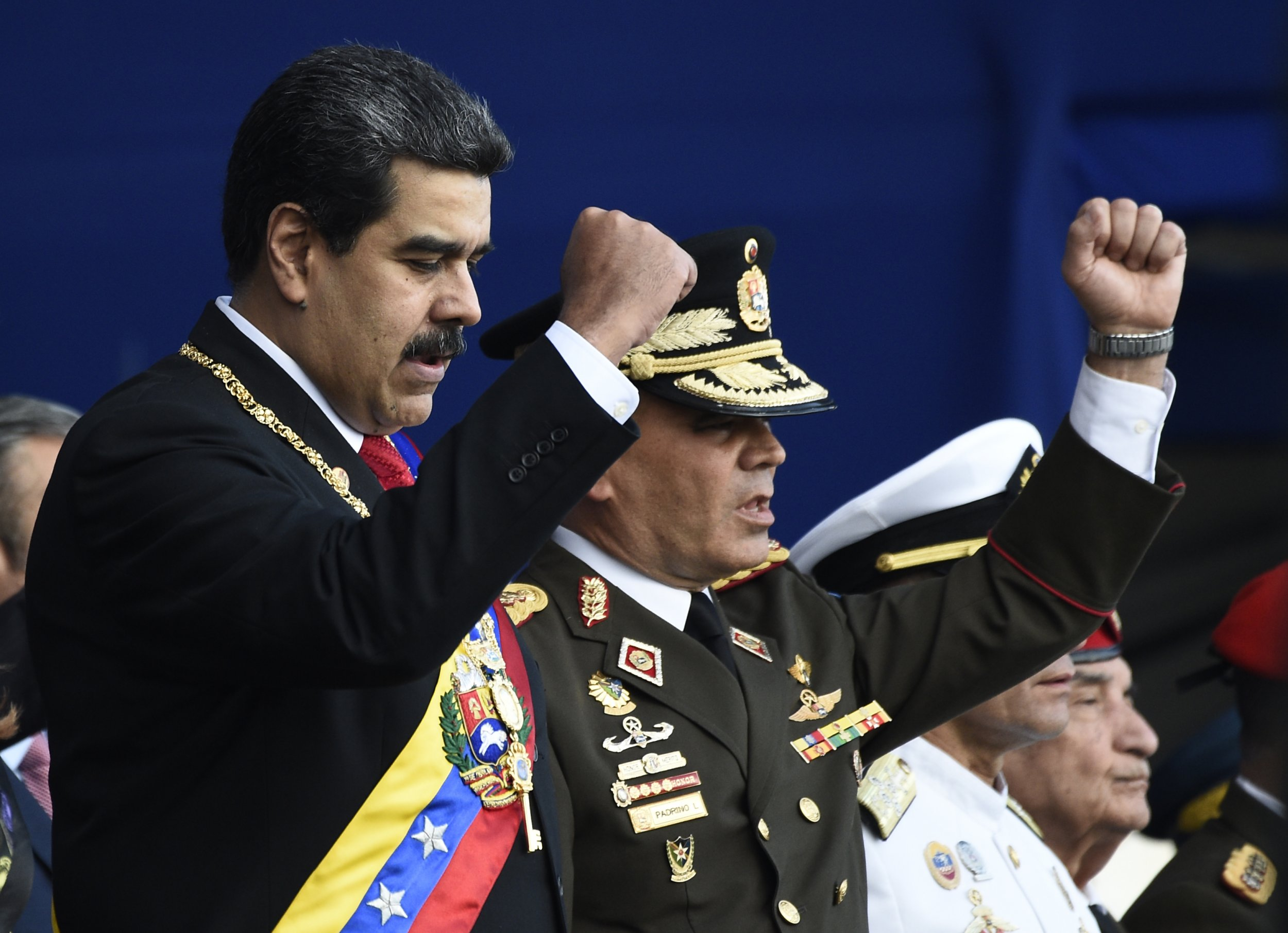 Nicolas Maduro Vladimir Padrino Lopez Venezuela military
