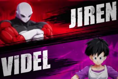 jiren and videl dragon ball fighterz