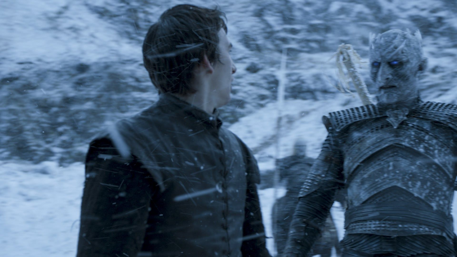 Image result for the night king and bran stark