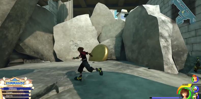 Kingdom Hearts 3 Lucky Emblem location 2