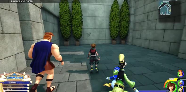 Kingdom Hearts 3 Lucky Emblem location 4