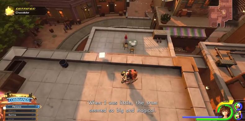 Kingdom Hearts 3 Lucky Emblem location 17-5