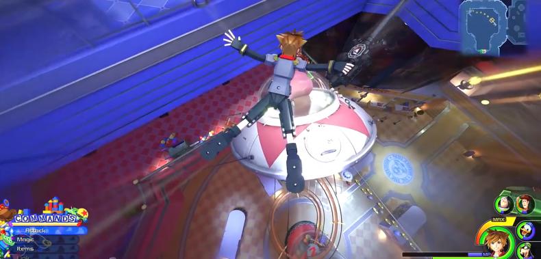 Kingdom Hearts 3 Lucky Emblem location 30-9