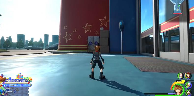 Kingdom Hearts 3 Lucky Emblem location 32-11