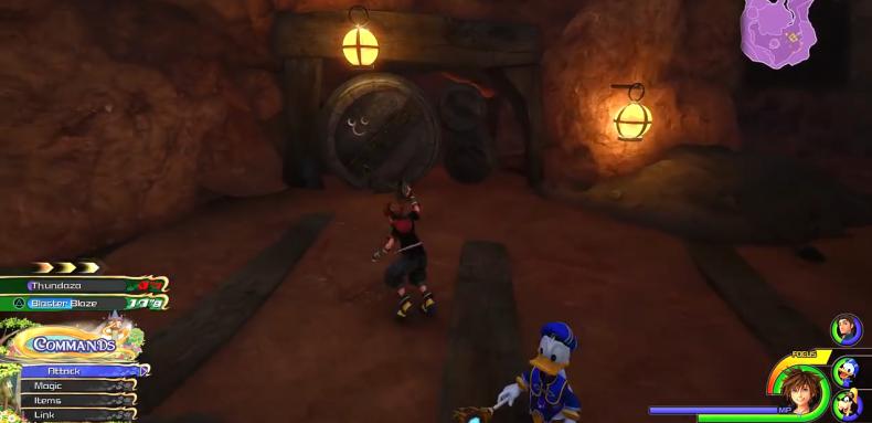 Kingdom Hearts 3 Lucky Emblem location 35-3