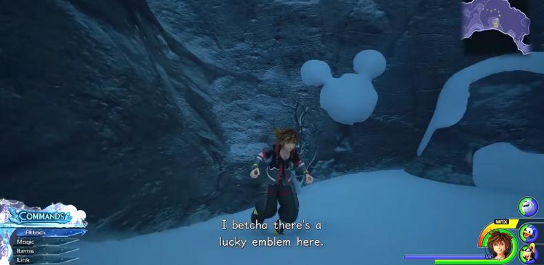 Kingdom Hearts 3 Lucky Emblem location 60-8