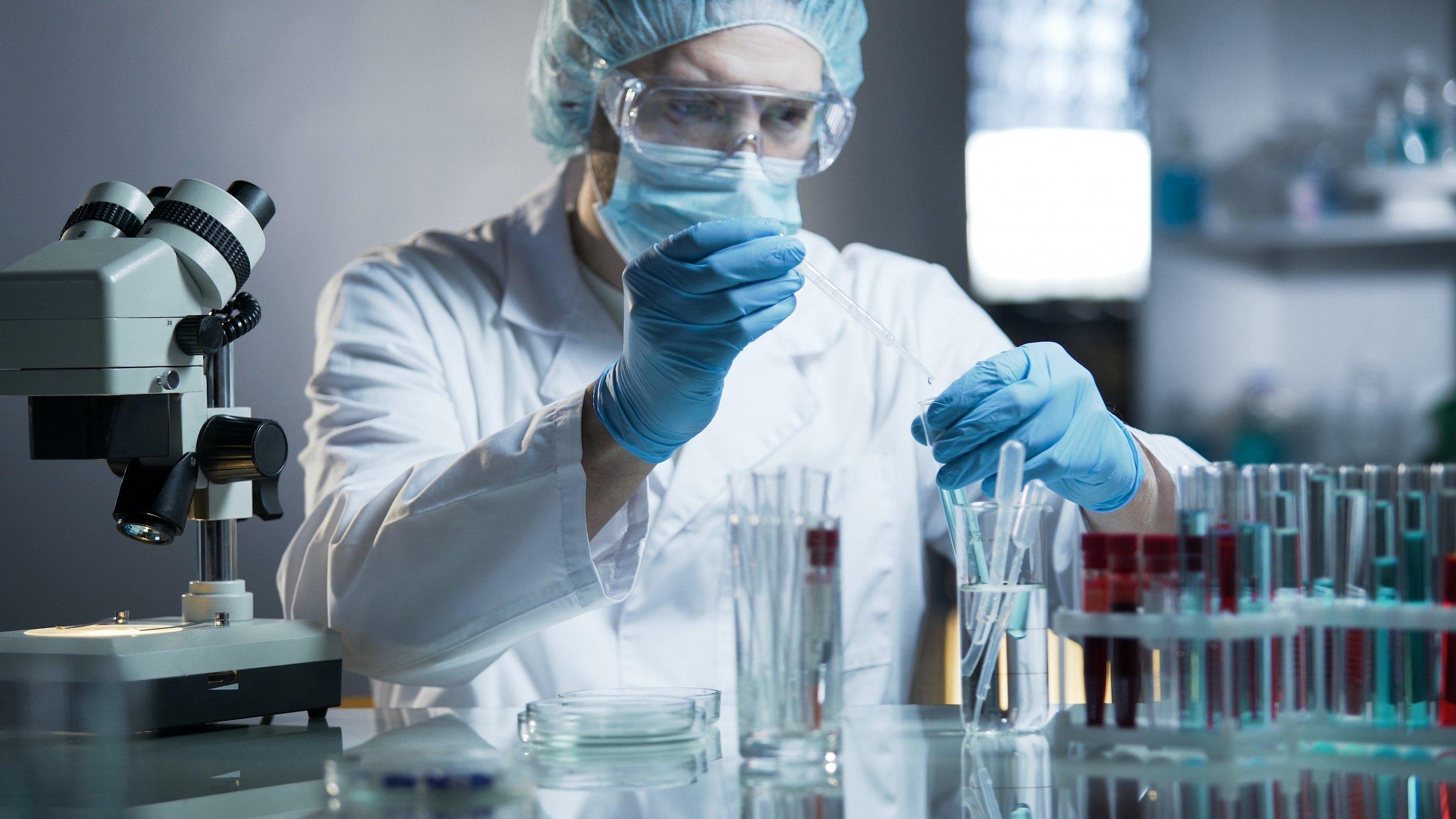 scientist lab stock getty