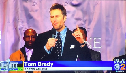 tom brady known cheater