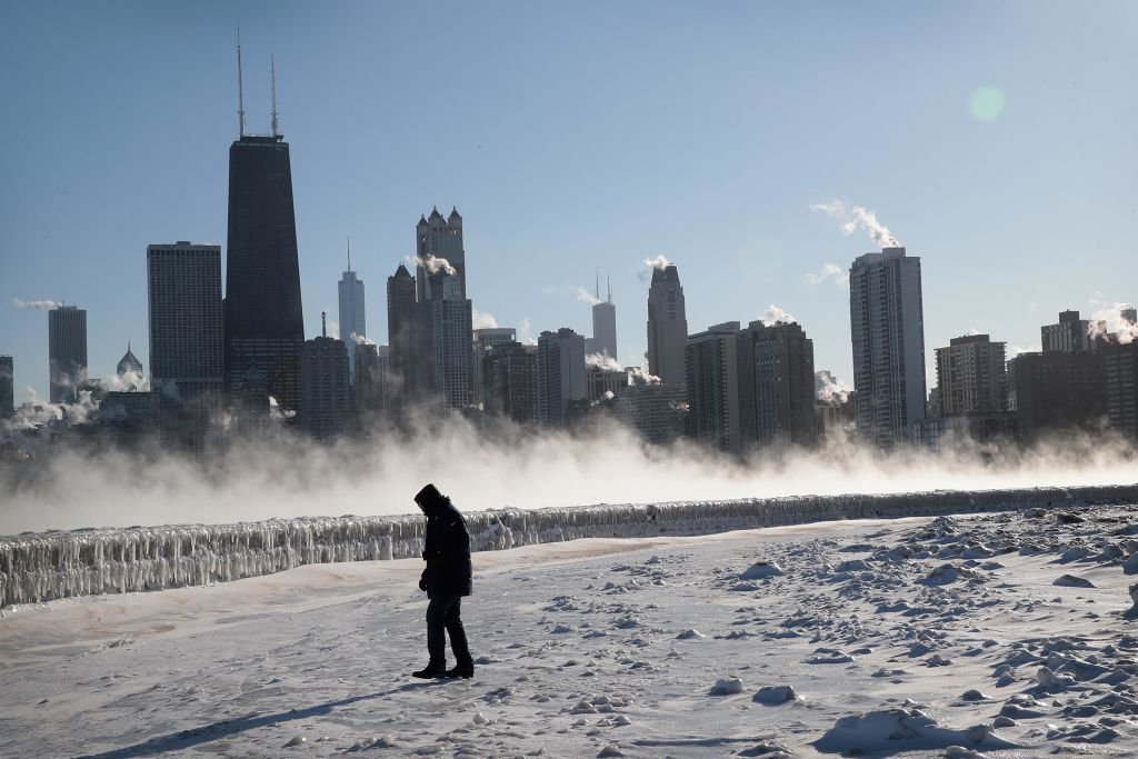 Chicago Polar Vortex