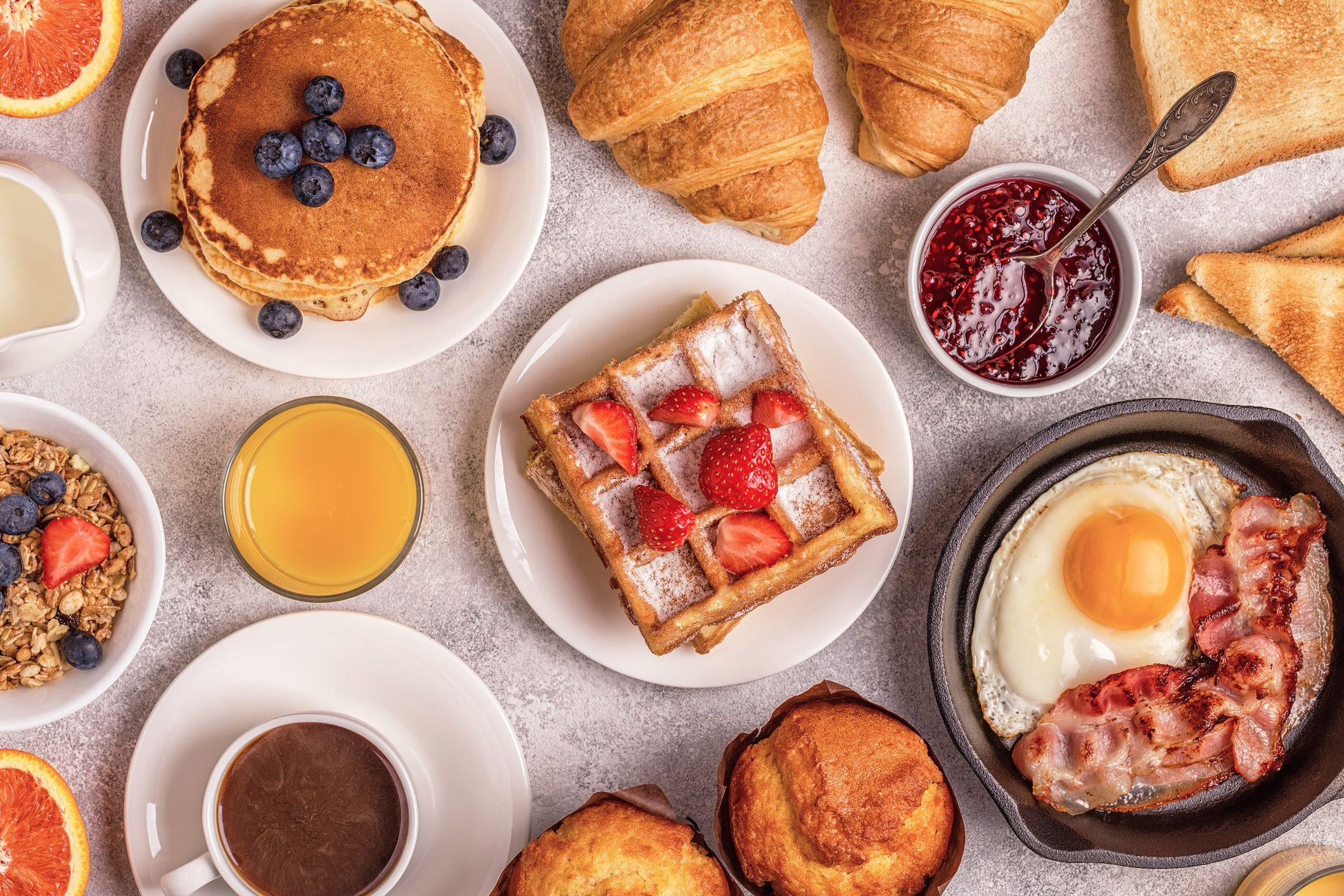 breakfast food pancakes stock getty