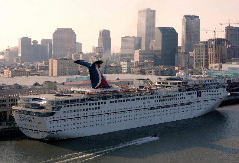 Cruise Ship, Coast Guard, Carnival Cruise, Carnival Ecstasy, Medevac
