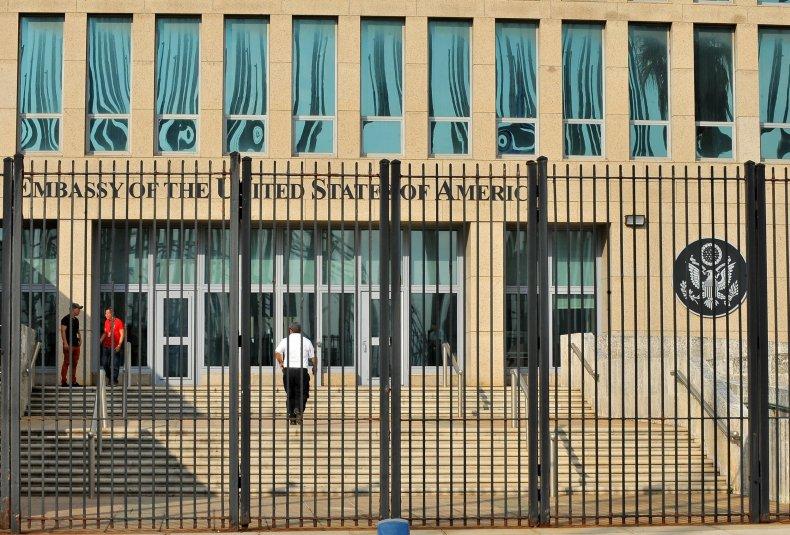 US embassy Havana Cuba sonic attack