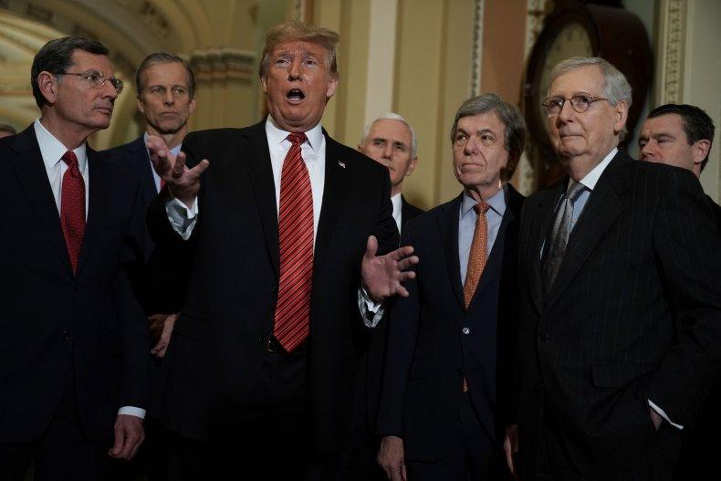 trump, gop, waste, time, border, wall, negotiations